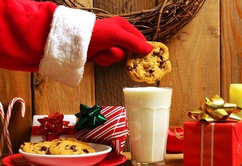 Santa Loves Milk And Cookies North Pole City